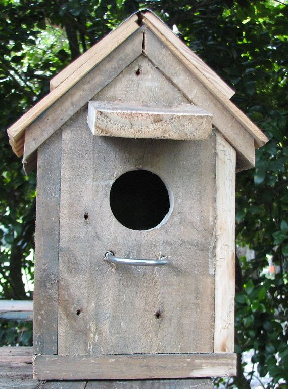Best Reclaimed Wood And Cedar Shingled Roof Rustic Birdhouse My 400 x 300