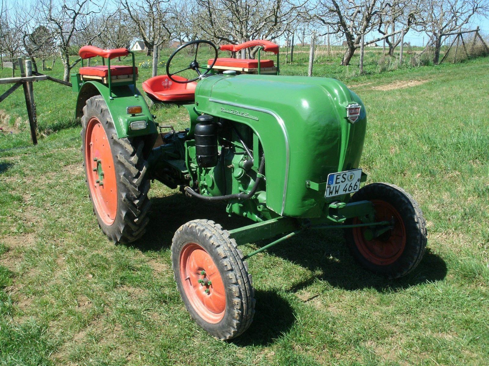 schlepper traktor oldtimer allgaier a16 baujahr 1953. Black Bedroom Furniture Sets. Home Design Ideas