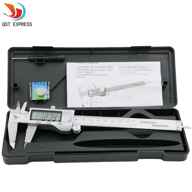 "15.47$  Buy here - 0-150mm/6"" Metal casing Digital CALIPER VERNIER caliper metal digital caliper GAUGE MICROMETER   #magazineonlinewebsite"