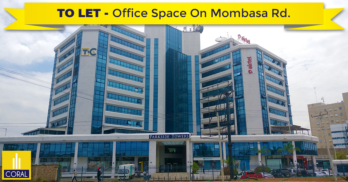Parkside Towers Office Space To Let On Mombasa Road Office