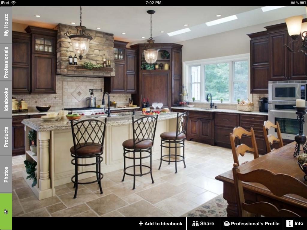 Cool rustic kitchen. | Designs | Pinterest