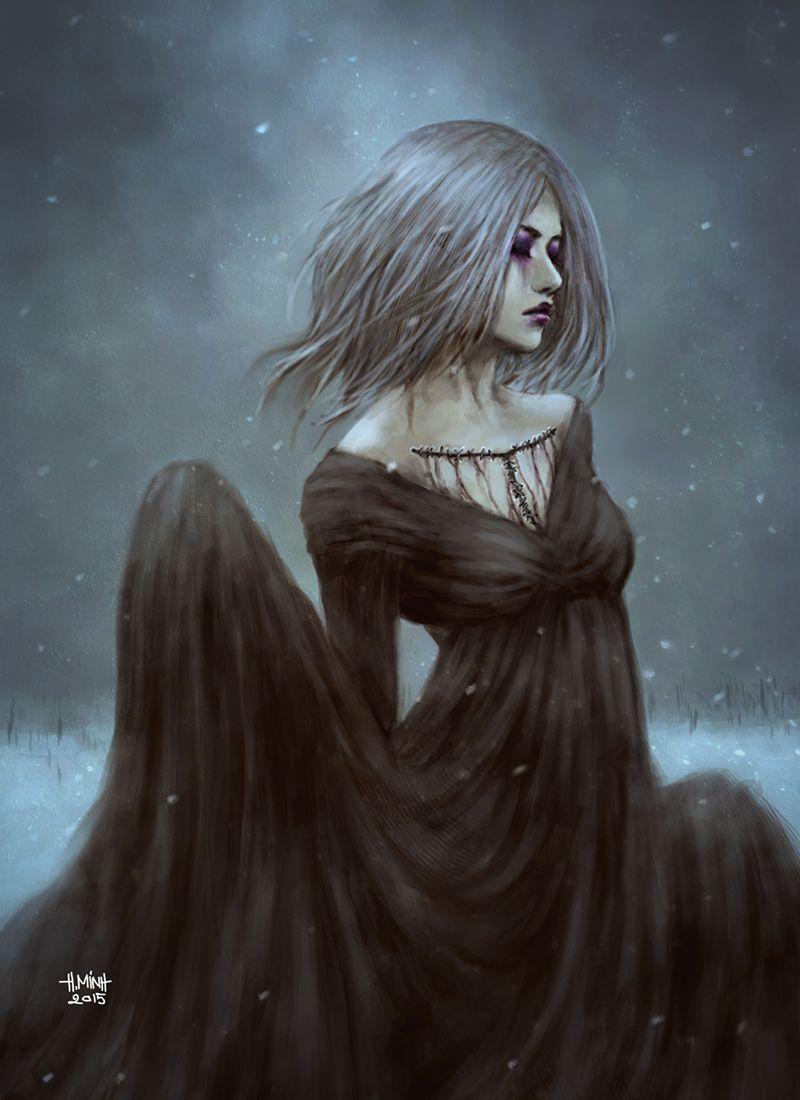 Sail by NanFe female witch wizard sorcerer sorceress ...