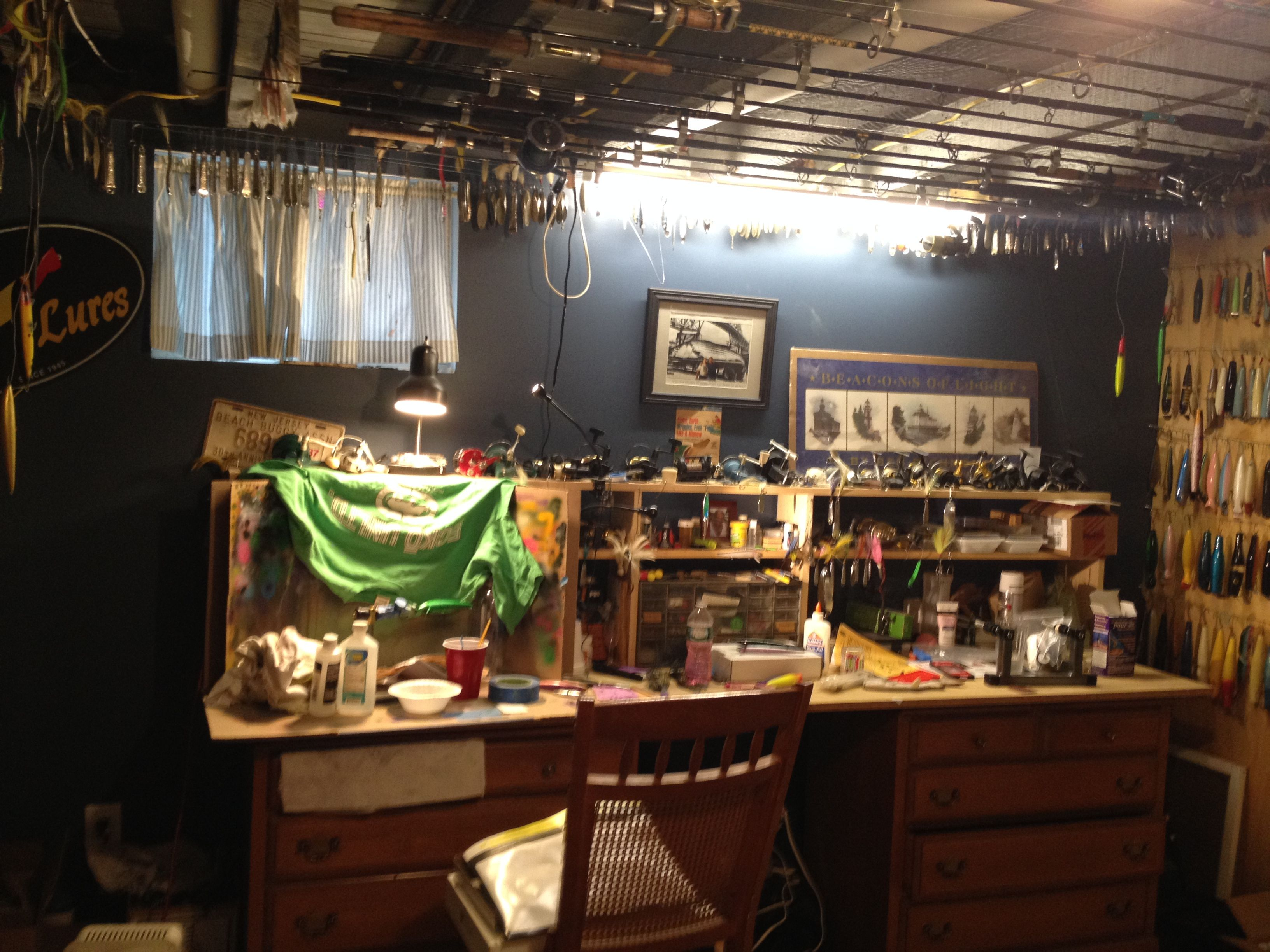 Man Cave Gear For Sale : Fishing tackle storage lets see your mancave setups