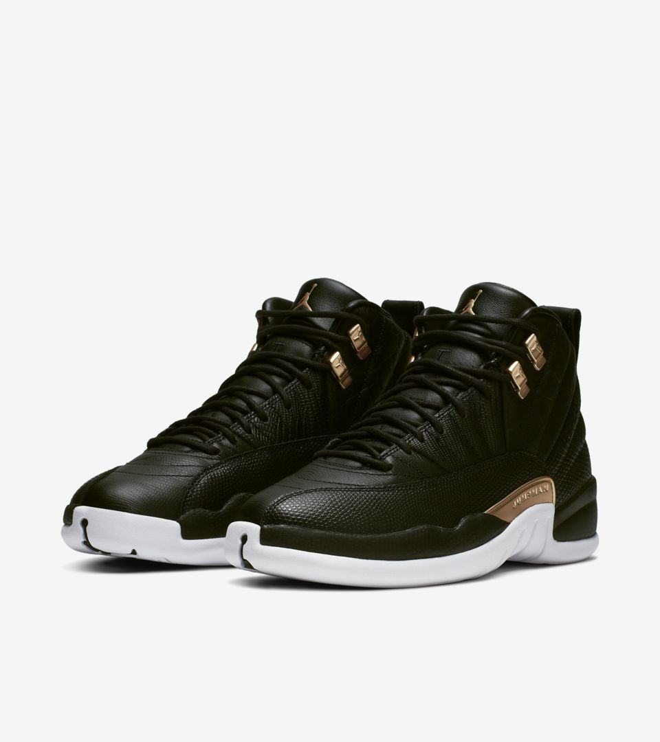 newest collection 05ad1 60345 Women's Air Jordan XII (12) Retro 'Midnight Black' -Release ...