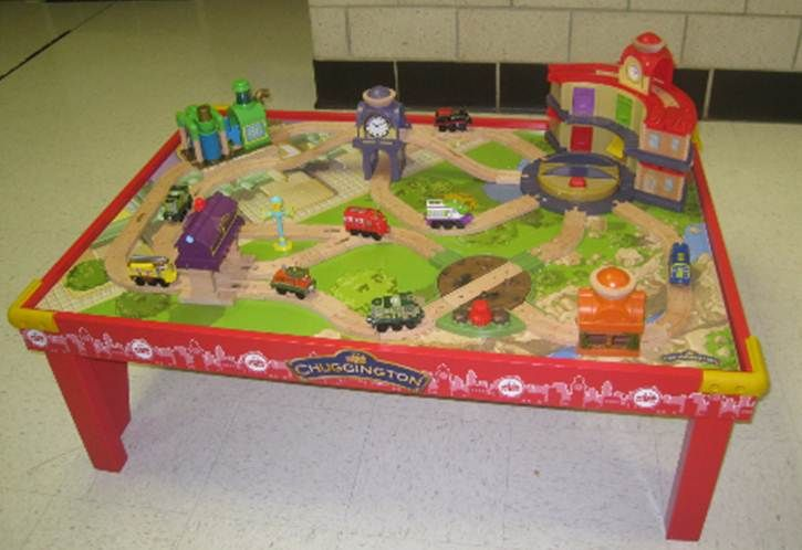 TOMY will donate up to 500 Chuggington Wooden Railway playtables and ...