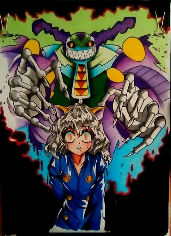 Titeres Neferpitou Por Pablo Guzmandiaz Anime Desenhos