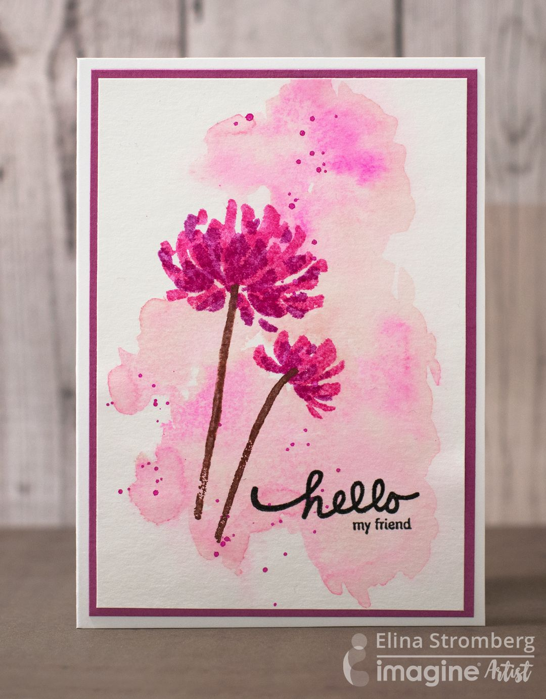 Hello there friend greeting card by tenia nelson tenia here from hello there friend greeting card by tenia nelson tenia here from jazzy paper designs with a kristyandbryce Image collections