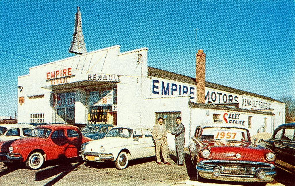 1950's Empire Motors Renault Dealership, Commack, New York