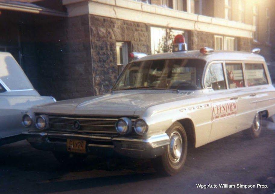 1962 Buick Red Ambulance Vintage Ambulances Firetrucks