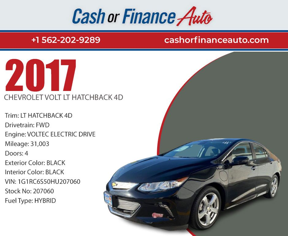 2017 Chevrolet Lt 31 003 Miles Voltec Electric Drive Lt Hatchback 4d Visit Our Website Or Contact Us For More Hatchback Chevrolet Volt Cars For Sale