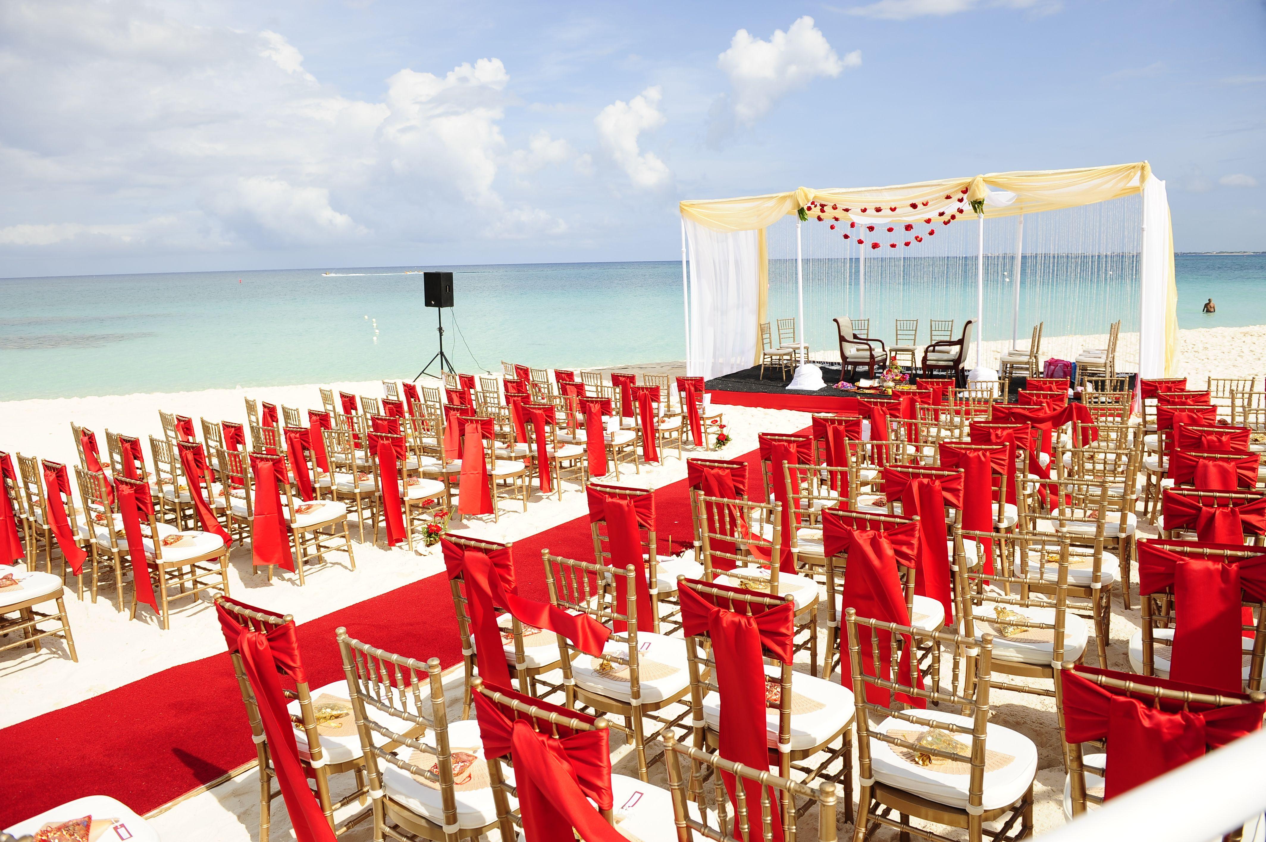 Aekta Jignesh Wedding Ceremony On World Famous Seven Mile Beach