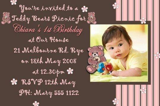 teddy bear birthday invitations for kids Party - Teddy Bear\u0027s