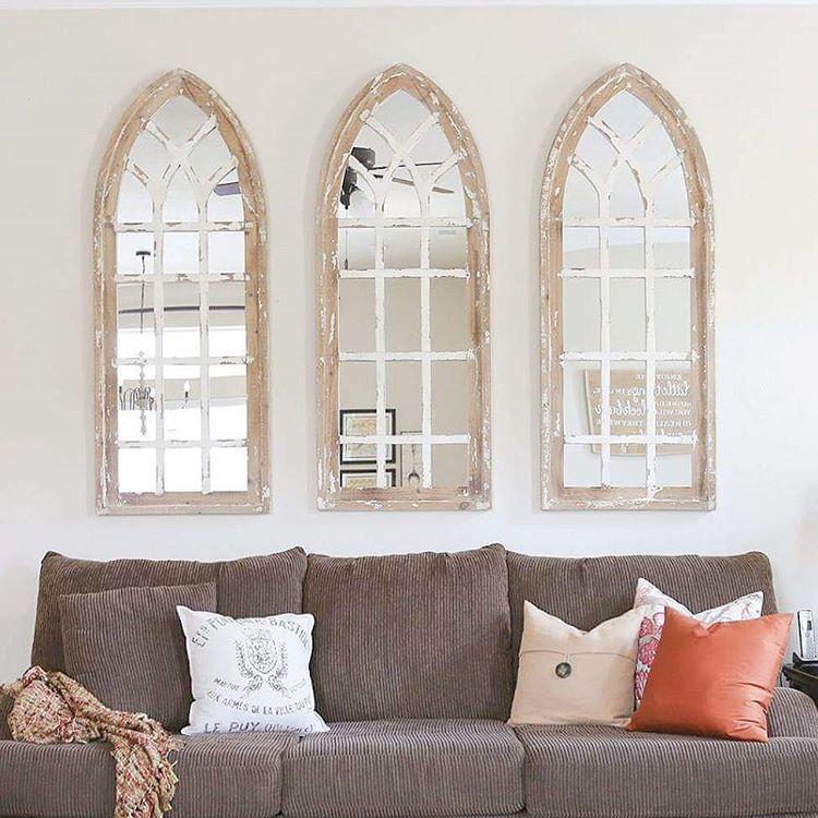 Beautiful Rustic Mirrors @katienisbett on Instagram ... on Kirkland's Home Decor id=68368