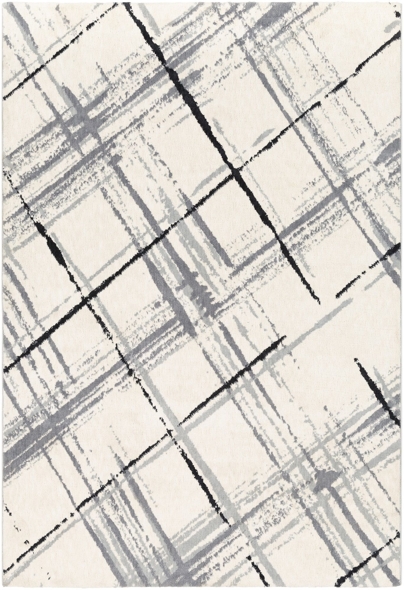 2 x 3 ivory and black checked rectangular area throw rug area throw rugs rugs on carpet throw rugs
