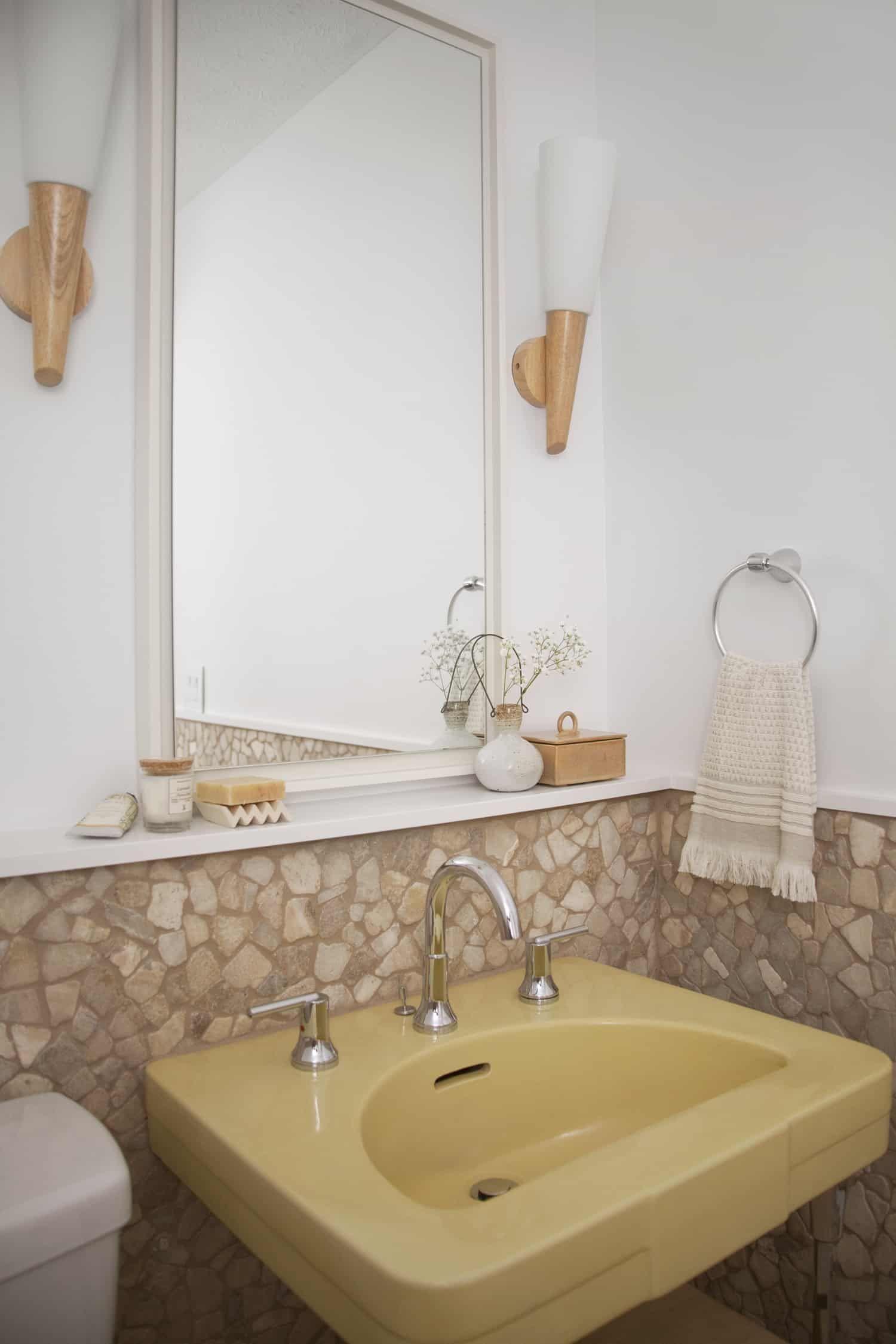 Powder Room Makeover with Delta | Bathroom, Small bathroom ...