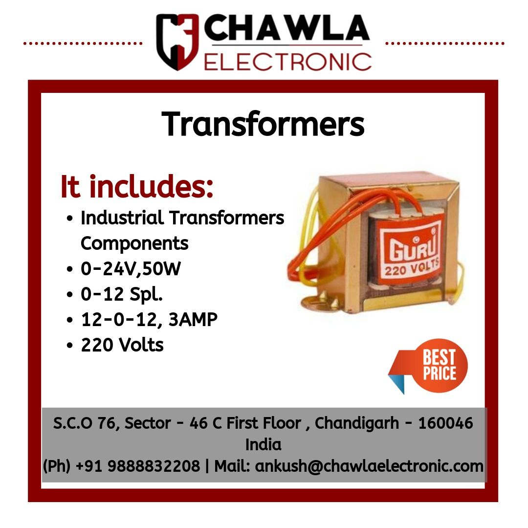 Transformers By Chawla Electronic Transformers Electronics Switches