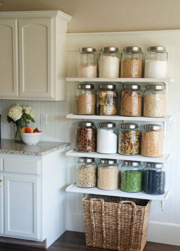 Kitchen Shelf Ideas Let Yourself Be Inspired Barattoli Da