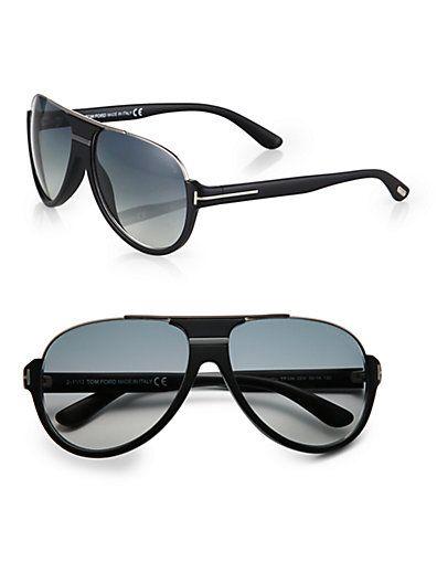 6942eab5fed Tom Ford Eyewear - Dimitry Aviator Sunglasses - Saks.com