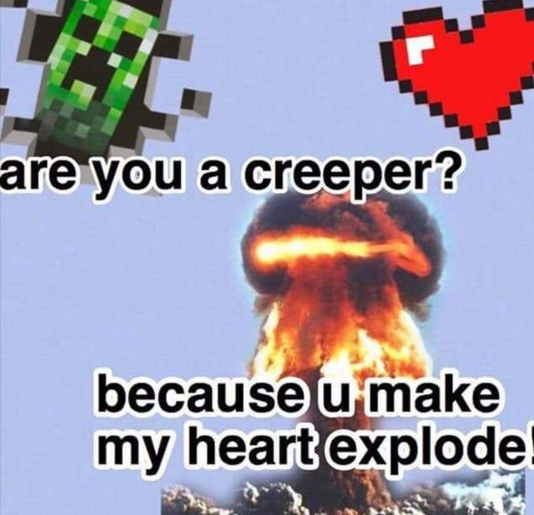 Pin By Jessica Jarosik On Minecraft In 2021 Cute Love Memes Happy Memes Crush Memes