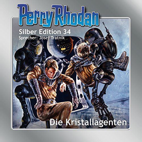 Die Kristallagenten Perry Rhodan Silber Edition 34 With Images Comic Book Cover Book Cover Comic Books