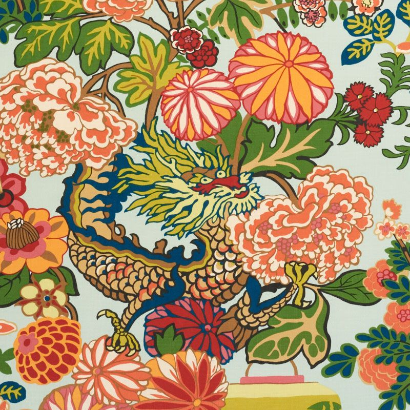 This Indoor Outdoor Fabric Is Just Beautiful Full Of Color Chiang
