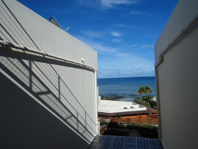 Tamarin Beach Apartments Mauritius roof top shot. www.tamarinbeachapartmentsmauritius.com