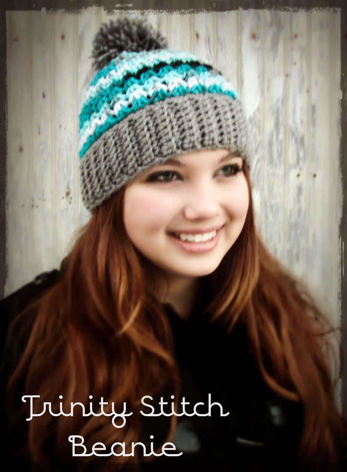 Trinity Hat Beanie ~ With or Without Pom~Pom