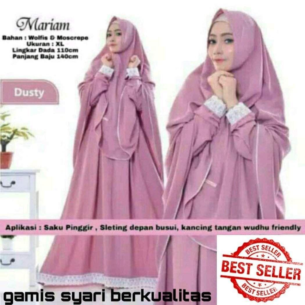 Baju Gamis Dan Jilbab Panjang  Model pakaian, Wanita, Baju muslim