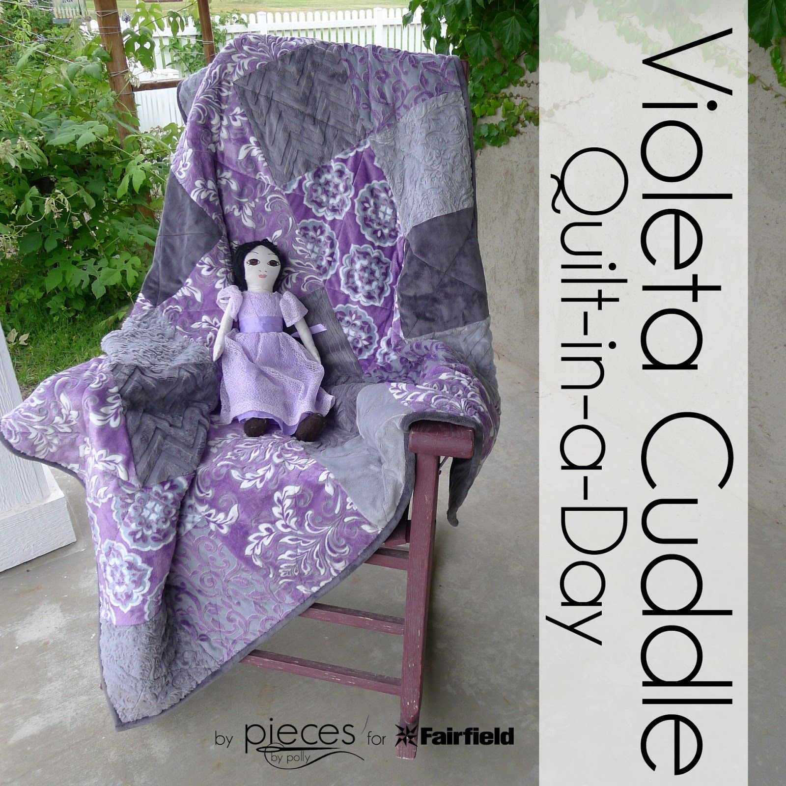 FREE PATTERN - violeta Cuddle Quilt-in-a-Day Free Pattern - from ... : quilt in a day free patterns - Adamdwight.com