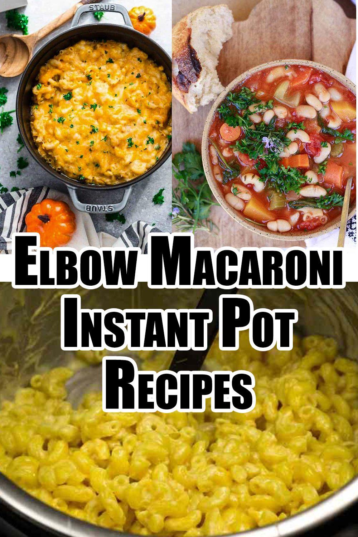 Instant Pot Elbow Macaroni Recipes Resep Makanan Resep Makanan