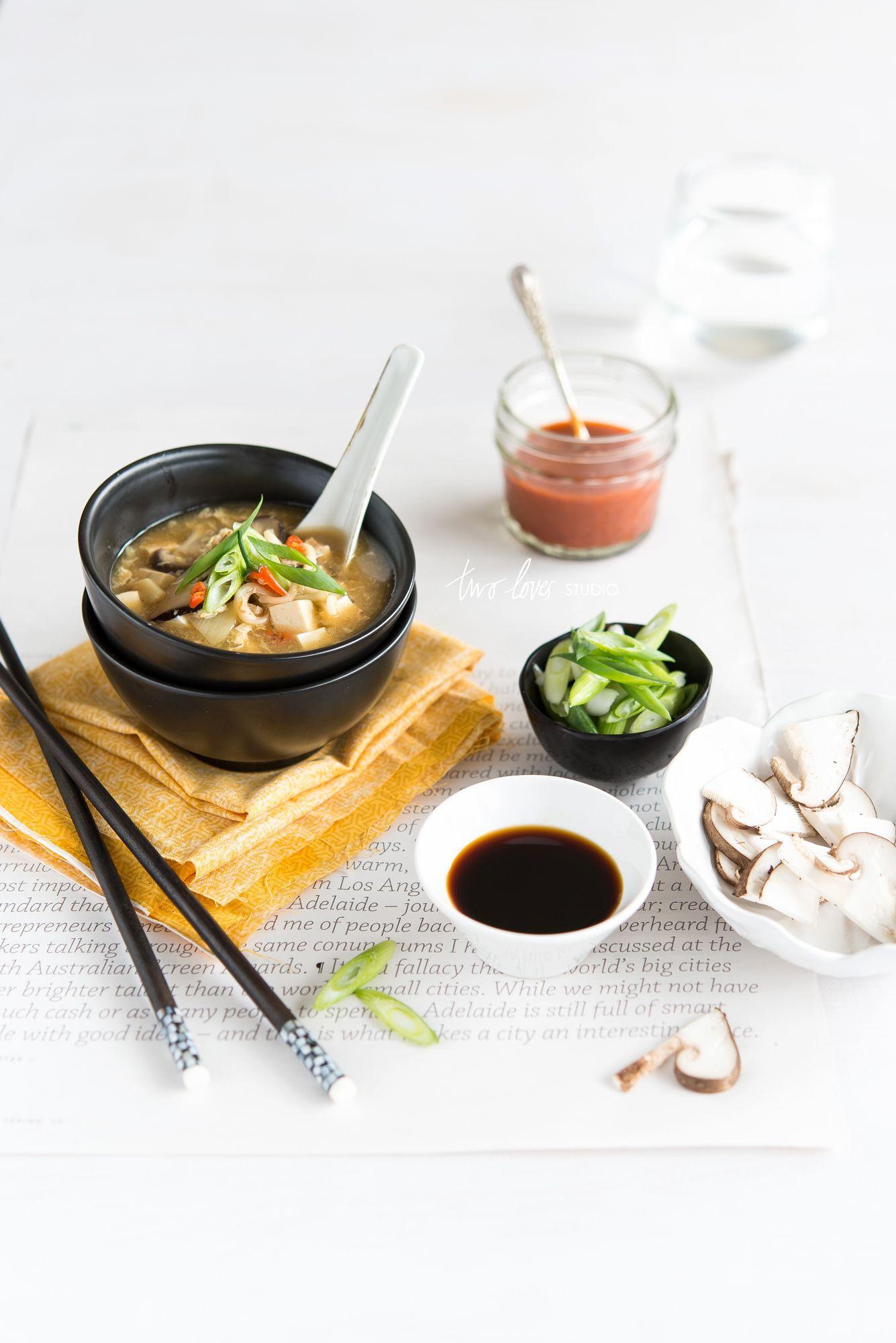 Hot & Sour Soup  © twolovesstudio.com   rachel jane