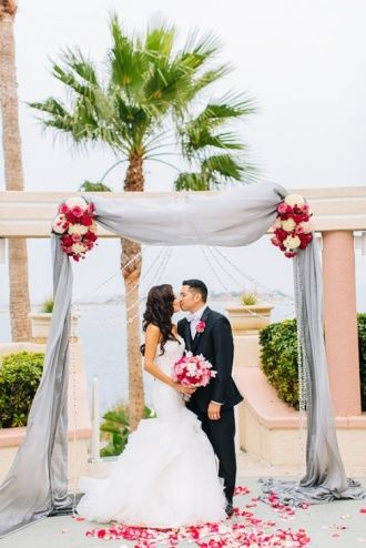 View photos of this real wedding in California on 8/2/2014. Check out other real weddings from The Knot and The Nest or share your wedding!