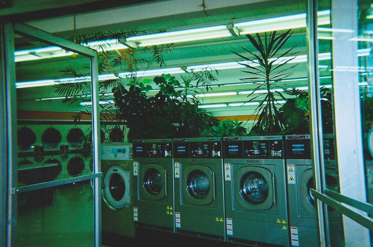 not as i will, but as You will - pprotozoans: this laundromat was ...