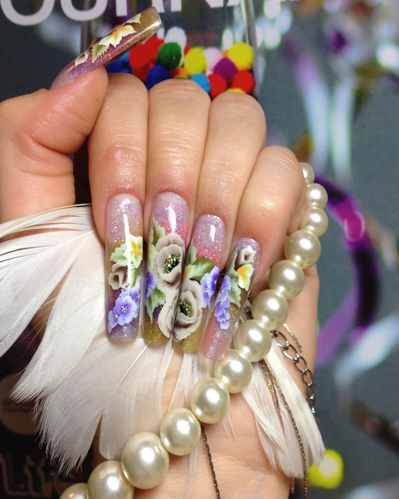 Nail Artists Cork Nails Anna Is Very Talented And Well Worth Visiting For All Type Of Nails