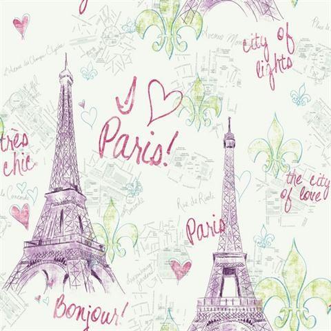 Paris Girls Toile Girl WallpaperParis Wallpaper IphoneIpad Mini