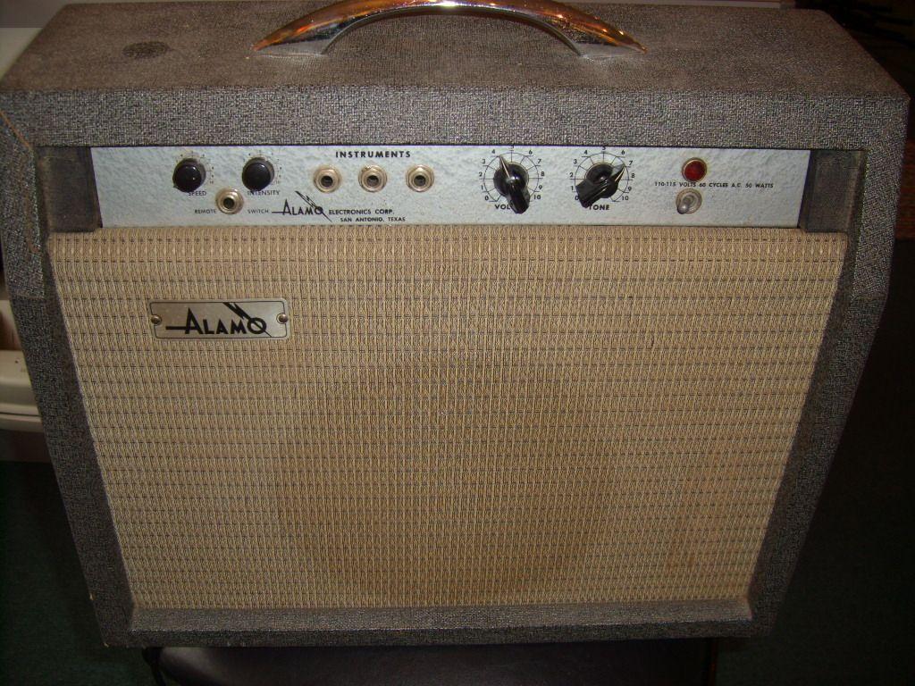 alamo amps | 1966 Emby, all tube, w/1 x 10