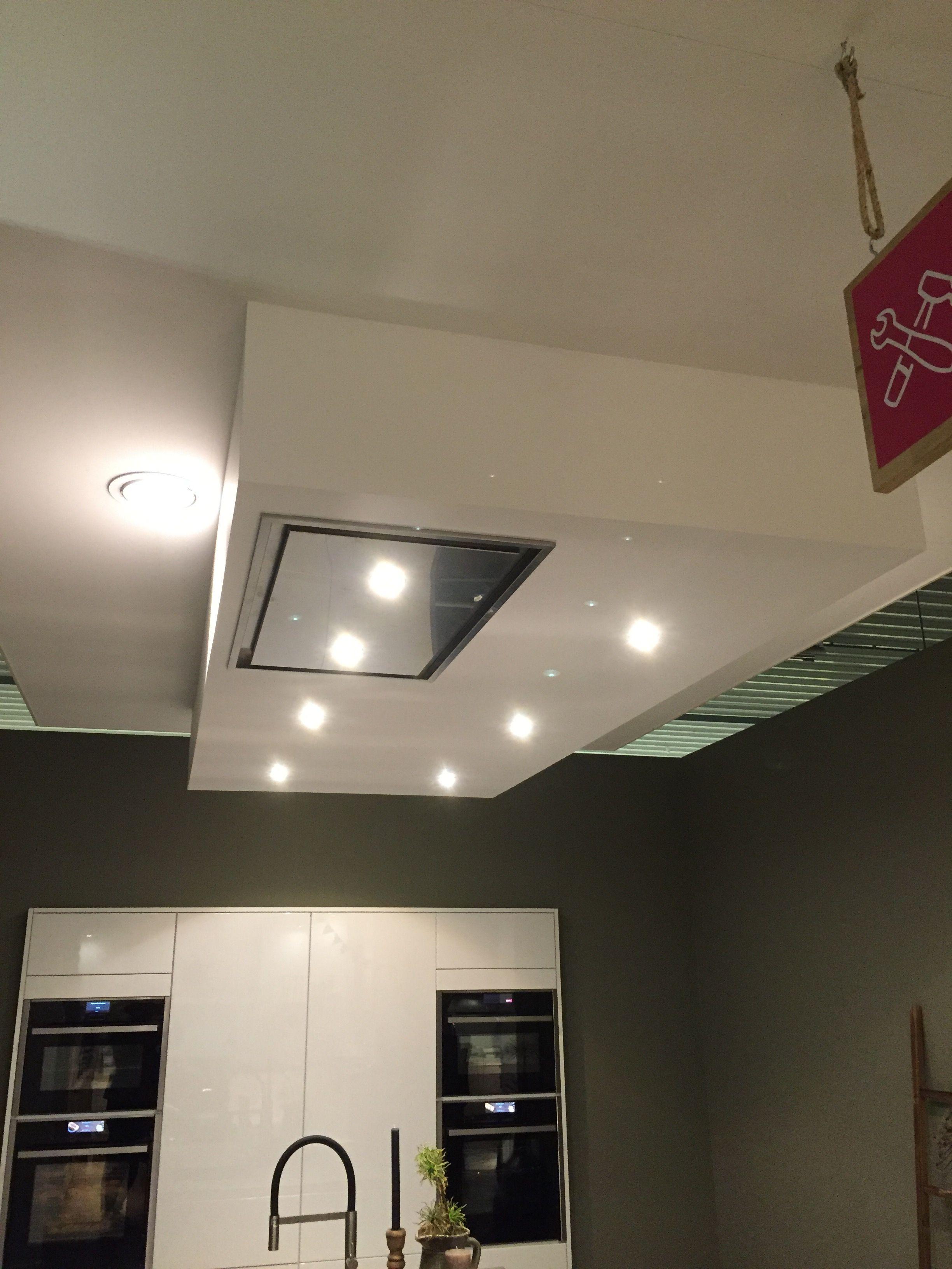 Verlaagd plafond en afzuigkap zoals besteld   Thijs en Nelleke ...