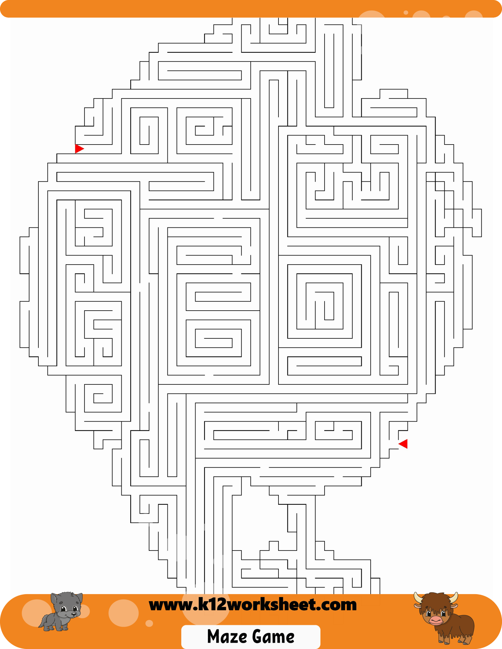 Turkey Maze For Kids Mazes Are Really Fun And A Good Way