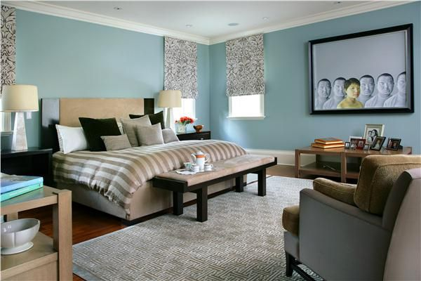 Transitional Eclectic Bedroom By Michael Abrams Contemporary