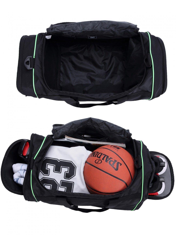 MIER Men Gym Bag with Shoes Compartment Sports Duffel Bag c4d69a035ddbc