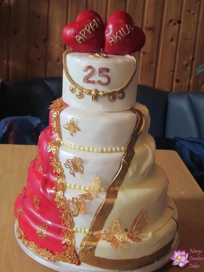 Indien Wedding Anniversary 25th Wedding Anniversary Cakes Wedding Anniversary Cakes 25 Anniversary Cake