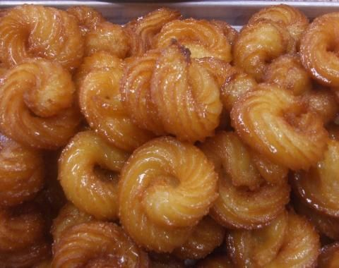 Mshabak with honey desserts and sweets pinterest middle honey forumfinder Image collections