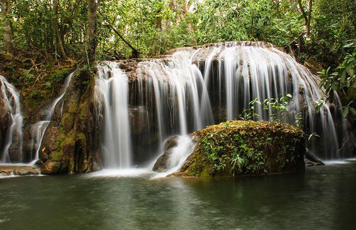 """Résultat de recherche d'images pour """"Chute de Cachoeira dos Primatas"""""""