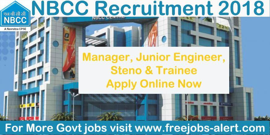 NBCC Recruitment 2020 Apply for 06 Marketing Executive
