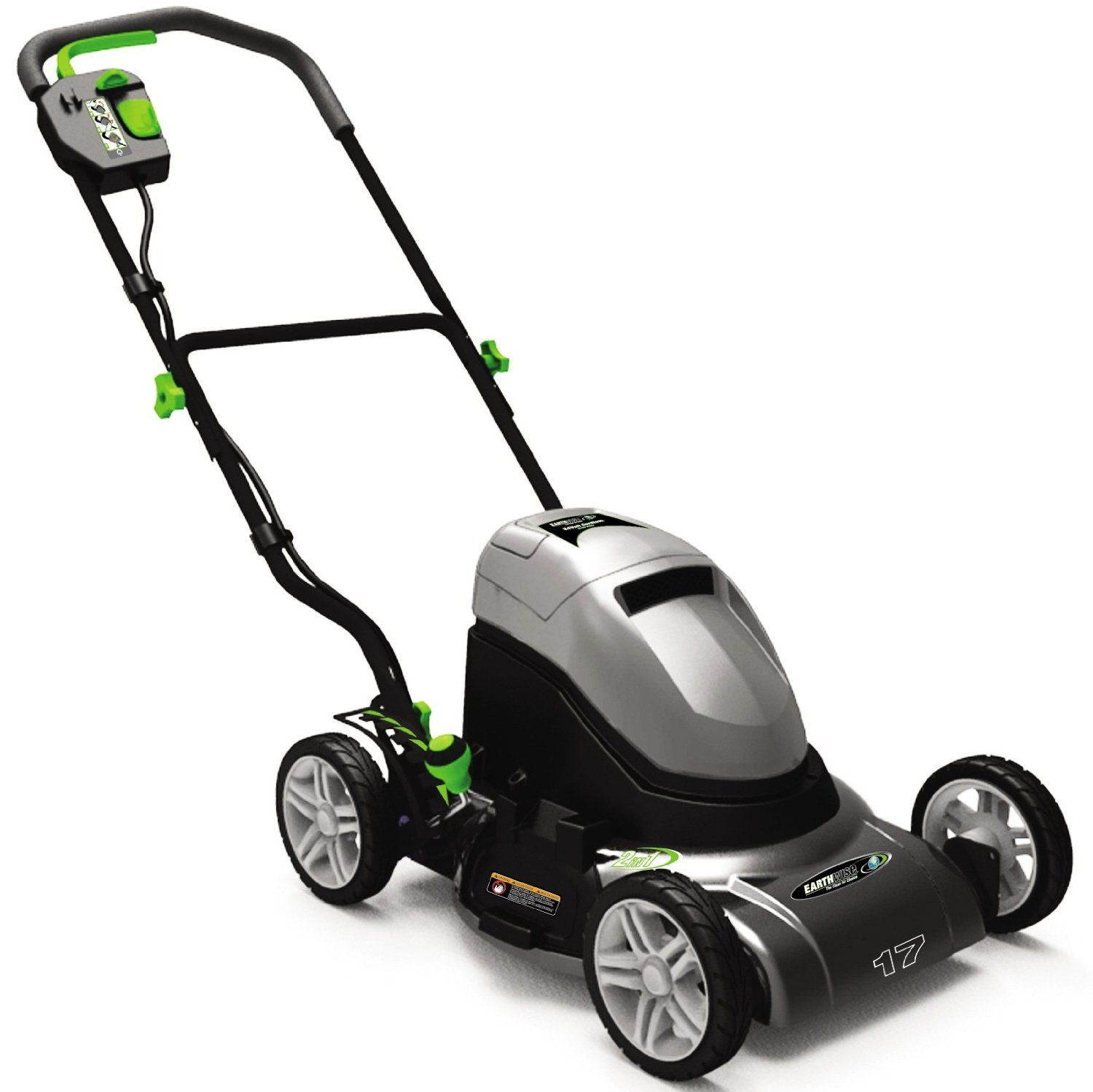 Earthwise 60217 17 Inch 24 Volt Side Discharge Mulching Cordless Electric Lawn Mower Cordless Lawn Mower Lawn Mower Lawn Mower Tractor