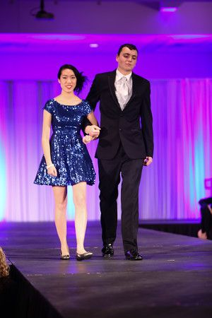 St. Francis Fashion Show #prom2015 #promdress #makeup #hairstyle #prom #xentrik