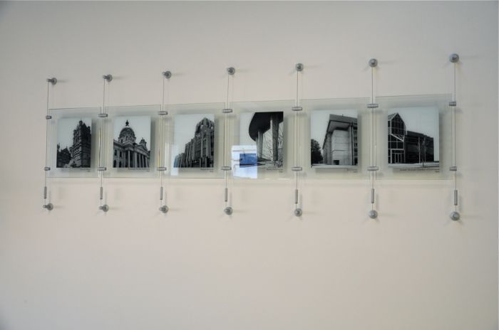 plexiglass photo display