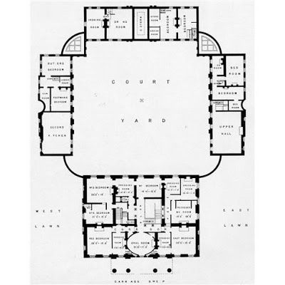 Berrington Hall The Perfect Neo Classical Country House Architectural Floor Plans Vintage House Plans How To Plan