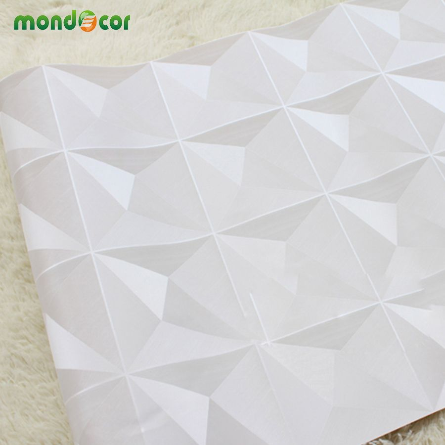 Mondecor European Luxury Diamond Pattern Wallpaper Living Room ...