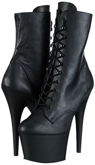 Pleaser ADORE-1020, Damen Halbschaft Stiefel: Amazon.de: Schuhe & Handtaschen